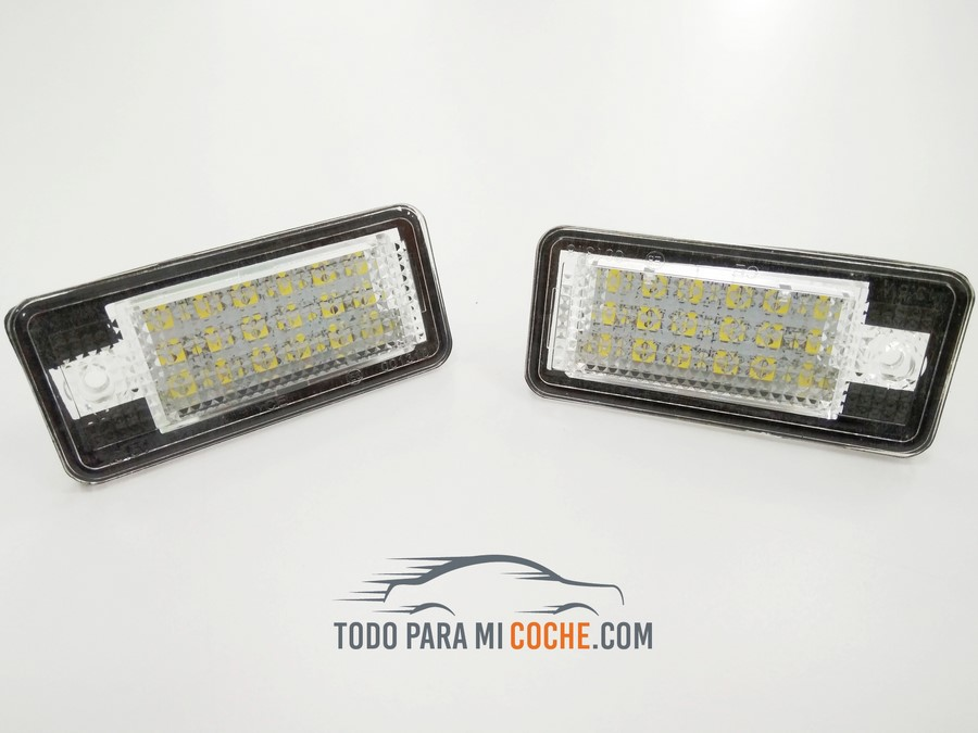 LED Matricula Audi A3/A4/A6/Q7  