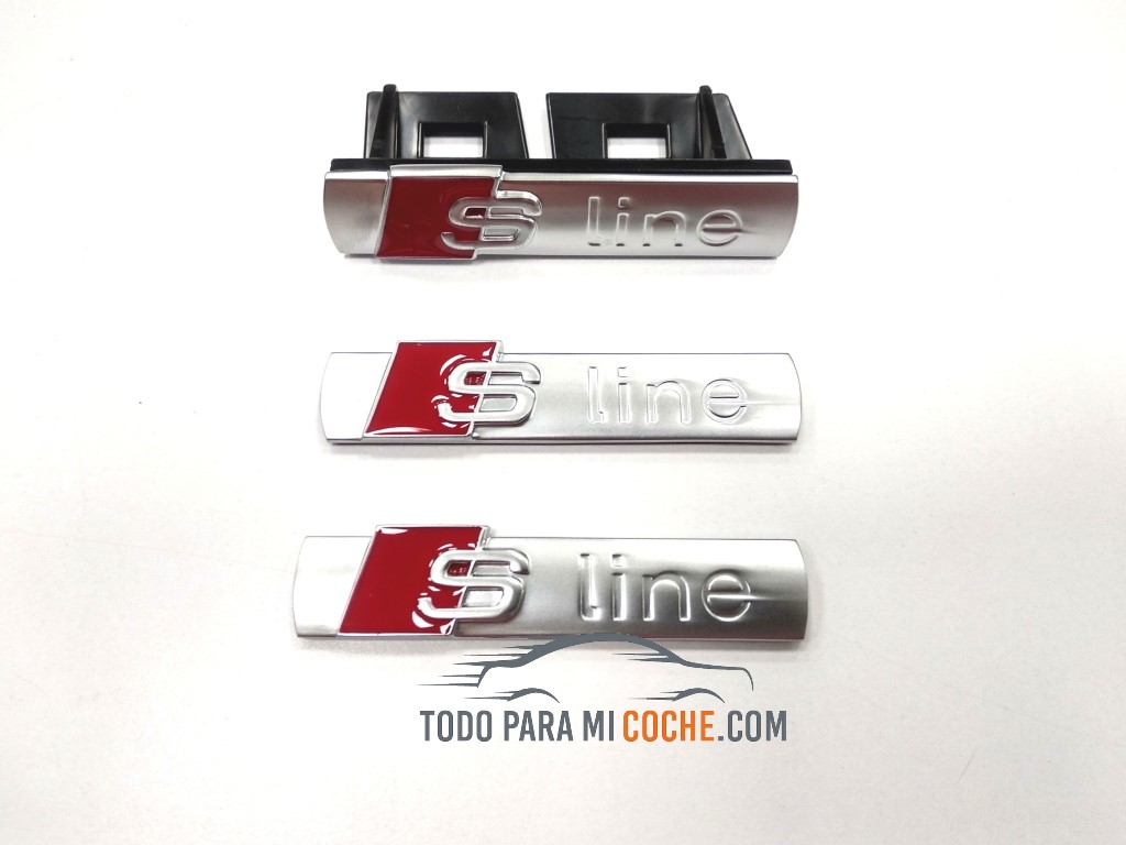 Insignias para coche S Line de Audi