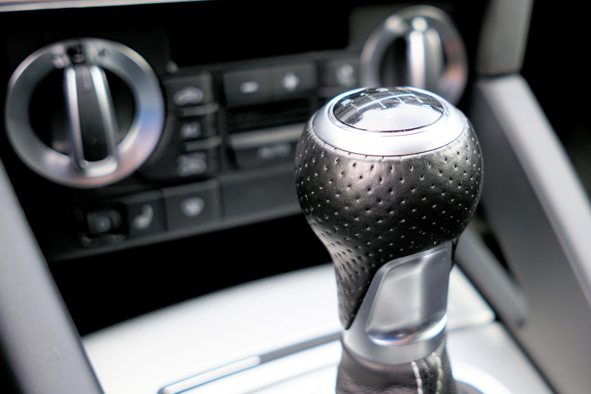 Pomo palanca cambios coche Audi