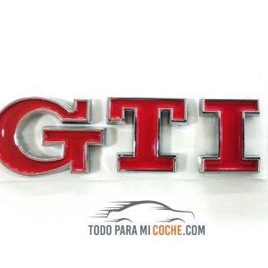 Logo GTI Trasero Rojo (3)